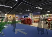 商业展厅超市药房