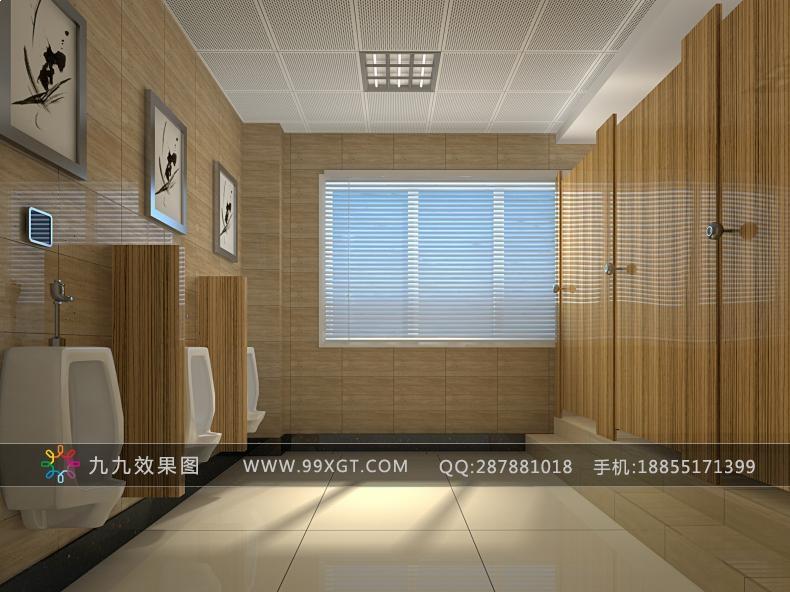 宾馆卫生间装修图集 最新公共卫生间效果图专题