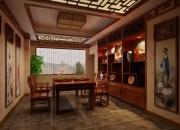 中式平层休闲室