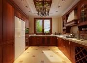 欧式平层厨房