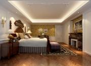 美式复式卧室