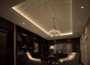 欧式平层书房