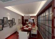 现代简约复式餐厅