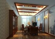 中式平层书房