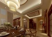 中式复式客厅