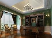 美式别墅书房