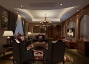 美式别墅休闲室