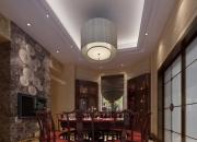 中式跃层餐厅
