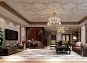 欧式平层客厅