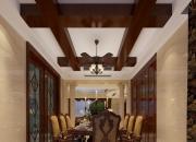 欧式别墅餐厅