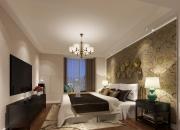 中式平层卧室