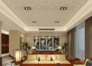中式跃层客厅