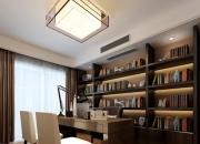 现代简约平层书房