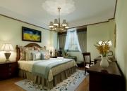 美式平层卧室