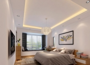 现代简约平层卧室