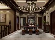 效果图风格:中式平层餐厅