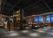 效果图风格:酒店餐饮大厅
