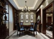 效果图风格:中式平层休闲室
